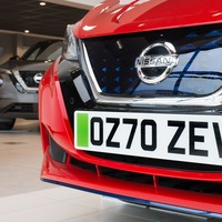 Car dealers trial green number plates on electric vehicles