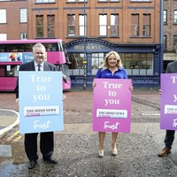 Irish News hits streets with bus campaign highlighting 'True to You' message