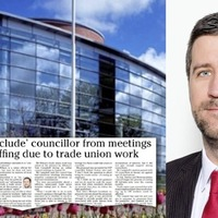 Alliance to 'review' bid to exclude trade unionist from council meetings after backlash