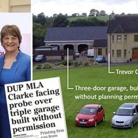 DUP MLA Trevor Clarke's triple garage granted planning approval