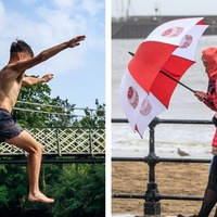 August weather in pictures: From sunshine to storms