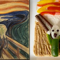 From Munch to crunch – university worker recreates masterpieces on toast