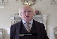 President Michael D Higgins performs Van Morrison song to mark 75th birthday