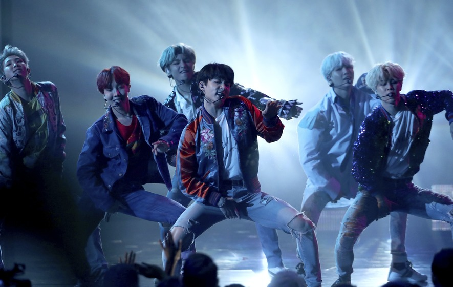After blowing up Billboard chart, K-pop colossus BTS eyes Grammies 'Dynamite'