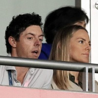 Golfer Rory McIlroy and wife Erica celebrating the birth of 'the absolute love of our lives'