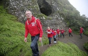 Dawson Stelfox encourages people to take part in Christian Aid walk