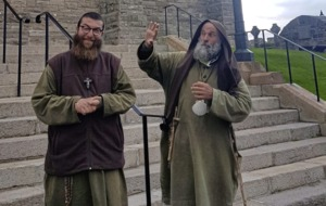 'Grazie mille' from Italy to Ireland as monks make pilgrimage of peace and hope