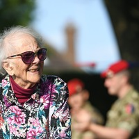 Former nurse completes 102nd charity walk on 102nd birthday