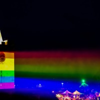 Guernsey church projects Pride colours in show of LGBTQ+ support