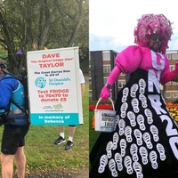 Fridges and pink dresses: Cancelled Great North Run lives on virtually