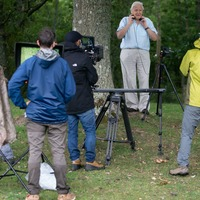 Sir David Attenborough returns to field as filming resumes on The Green Planet