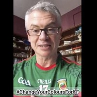 Video: Joe Brolly challenges DUP leader Arlene Foster to wear GAA jersey in support of cystic fibrosis charities