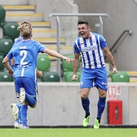 Coleraine forward Eoin Bradley hoping for another Euro night to remember