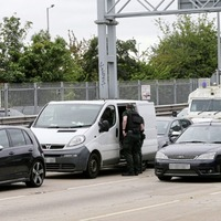 Three held as police stop van near Westlink in Coalisland theft probe