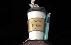 Poo knives and alligator on helium among winning entries for Ig Nobel prizes