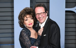 Dame Joan Collins says lockdown has brought her 'closer than ever' to husband