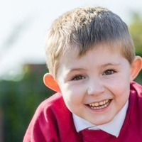 Boy diagnosed with rare cancer prepares for first day at school