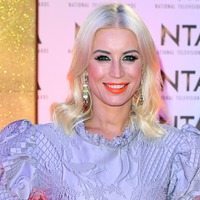 Denise Van Outen skates on to the Dancing On Ice line-up