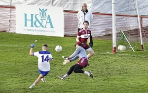 Slaughtneil meet old rivals Ballinderry for a place in Derry Championship final