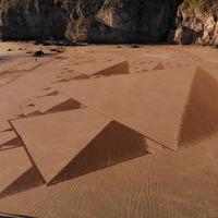 Land artist creates 500th design on Somerset beach