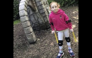 Co Down girl (10) walking 80,000 steps for charity