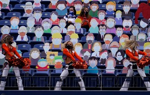 Denver Broncos watched in NFL game by 1,800 South Park cutouts