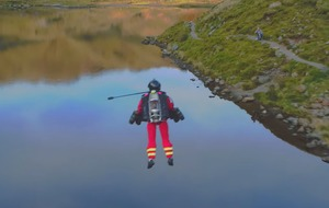 Jet suit paramedic could save lives, says air ambulance service