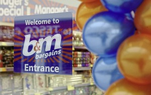 B&M Bargains plans to open 45 more stores