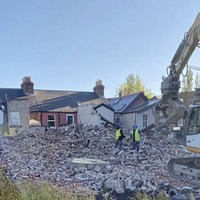Investigation launched after dawn demolition of former Dublin home of 1916 leader The O'Rahilly