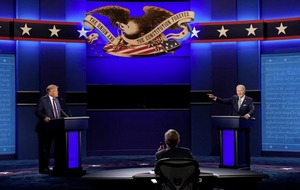 Presidential debate a depressing and chaotic joust