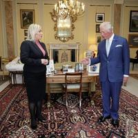 Sinn Féin's Michelle O'Neill talks Brexit, borders and Bloody Sunday with Prince Charles