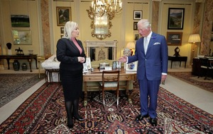 Sinn Féin's Michelle O'Neill talks Brexit, borders and Bloody Sunday with Prince Charles