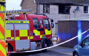Ballymena in shock as police launch murder probe and girl dies in house fire