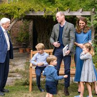 Sir David Attenborough reveals favourite animal to royal children