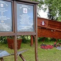 Memorial to eight soldiers killed in IRA bus bomb attack in Co Tyrone in 1988 damaged by vandals