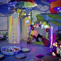 Nurturing umbrella room opened by school to `shield children when it rains'