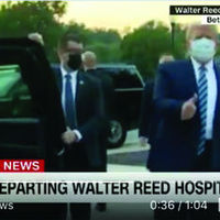 Trump leaves hospital after three nights of treatment