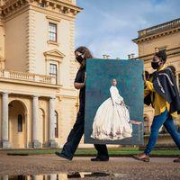 English Heritage displays portrait of Queen Victoria's African goddaughter