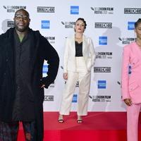 Mangrove stars socially distance at opening night of London Film Festival