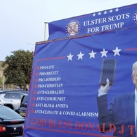 Ex-councillor Jolene Bunting's 'Ulster-Scots for Trump' trailer campaign hits the road