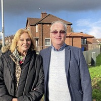 Joanna Lumley spotted in Derry during filming for new show