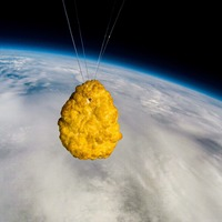 Chicken nugget launched into space to celebrate Iceland's 50th anniversary