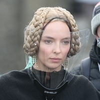 Jodie Comer celebrates last day of filming on Ridley Scott drama The Last Duel