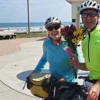 Man, 74, raises more than £40,000 for charity after cycling across the US