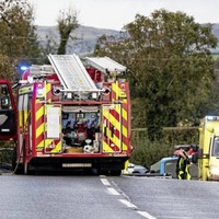 Four people including one school pupil taken to hospital following Co Down crash