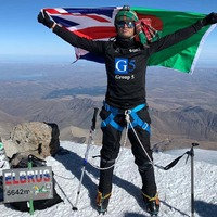 Mountaineer scales Europe's highest peak days after recovering from Covid-19