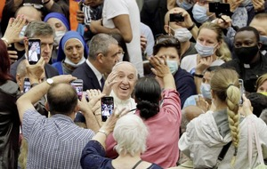 Pope Francis's social distancing dilemma