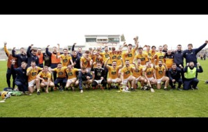 Dominant Antrim hurlers back in the big league after promotion win over Kerry