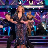Jacqui Smith says muscles 'screaming out loud' after Strictly training