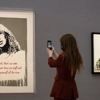 Banksy's Oh My God could fetch up to £1 million at auction